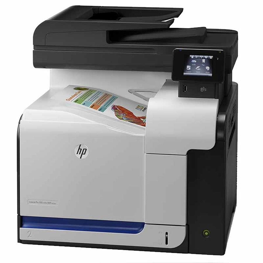 HP LaserJet Pro 500 Color MFP M570dn-1