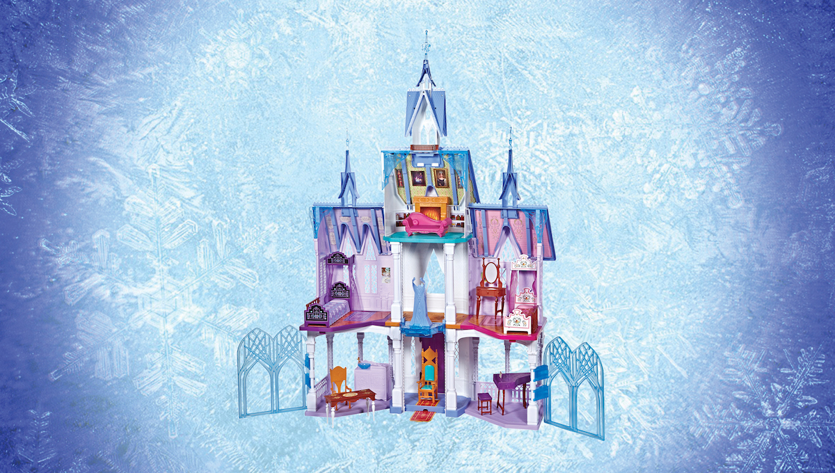 Day 3: Frozen Ultimate Castle Playset