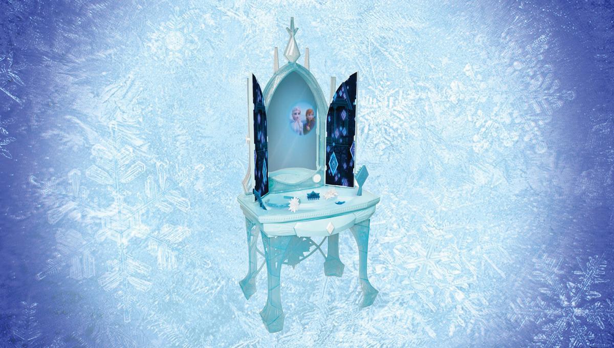 Day 7: Frozen Enchanted Ice Vanity