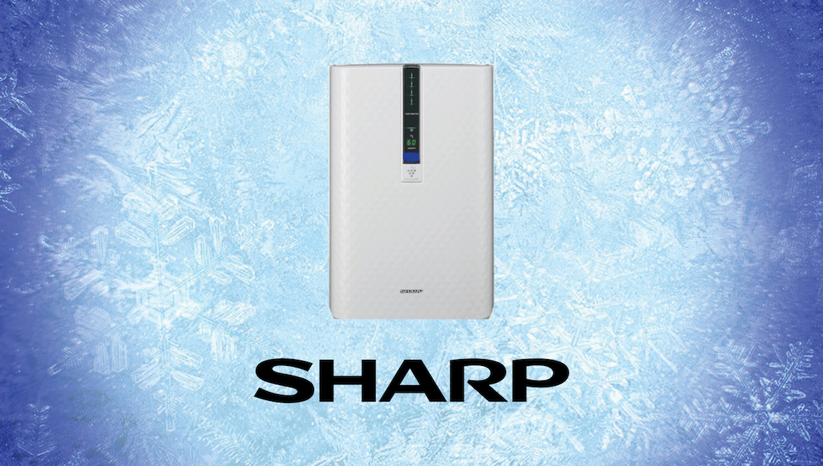 Day 8: Sharp Plasmacluster Ion Air Purifier