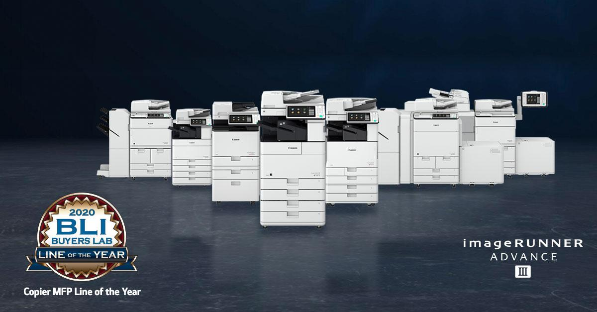 Canon's A3 Line of Printers Wins Prestigious Industry Award!