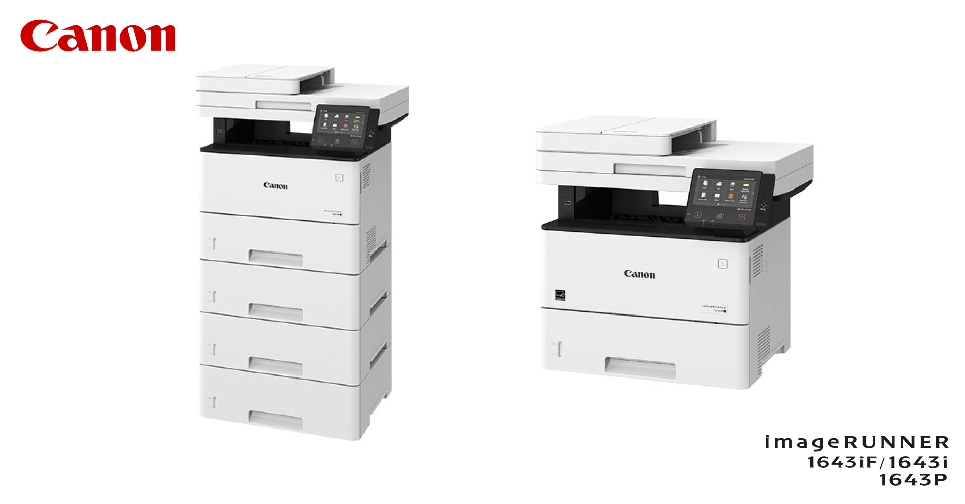 Secure and Versatile - An Overview of the new Canon imageRUNNER 1643 Series